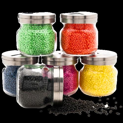 Expanded Polypropylene in jar